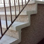 Exposed Aggregate Steps